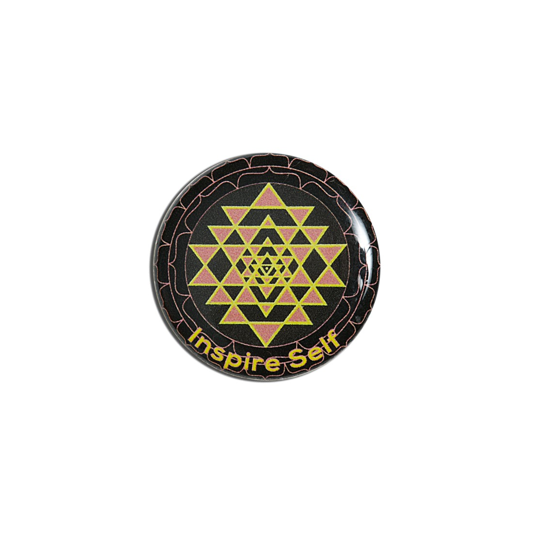patch Noir Shri Yantra + doming